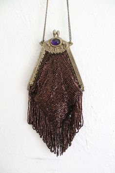 Vintage 20s Deco Beaded Purse.