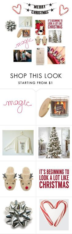"""Merry Christmas everyone ❤️❤️❤️❤️"" by amanda-drake1 ❤ liked on Polyvore featuring Sonoma life + style, Sixtrees, Bloomingville, Draper James, Casetify, women's clothing, women's fashion, women, female and woman"