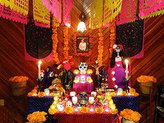 Fotos de la semana: El color del Día de Muertos. Ofrenda casera, Veracruz | México Desconocido