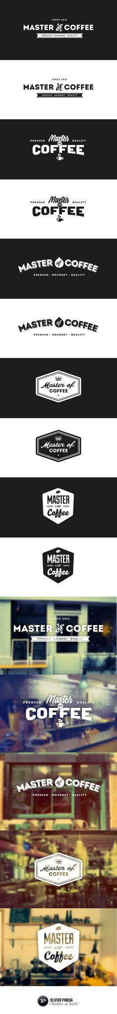 Master of Coffee by Olivier Pineda (via Creattica)