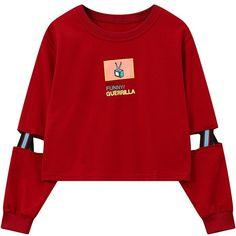 >> Click to Buy << women cropped sweatshirt harajuku cutout crop tops hip-hop hoodies loose sudaderas mujer woman fashion pullover feminino moleton #Affiliate