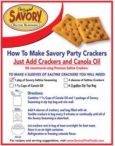 Copycat Recipes, Gourmet Recipes, Appetizer Recipes, Appetizers, Saltine Cracker Recipes, Saltine Crackers, Seasoned Crackers, Food To Make, Favorite Recipes