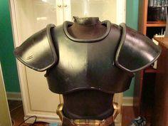 Armor - fabric (what glue?) foam