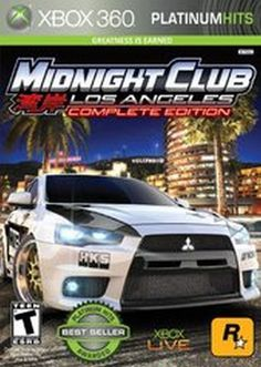 Midnight Club: Los Angeles - Greatest Hits - Complete Edition - Playstation 3 by Rockstar Games Xbox 360 Video Games, Latest Video Games, Xbox Games, Fifa Games, Music Games, Microsoft, Midnight Club, Video Game Collection, Kid Cudi