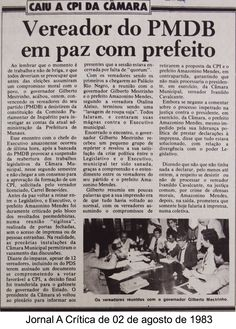 Jornal A Crítica - 02/08/1983