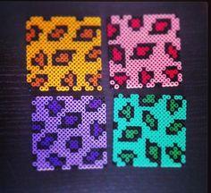 Hama Beads Design, Diy Perler Beads, Perler Bead Art, Fuse Bead Patterns, Beading Patterns, Melting Beads, Letter Patterns, Fuse Beads, Pixel Art