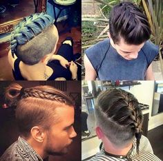 27 Braids For Men + Cool Man Braid Hairstyles For Guys Guide) is part of Mens braids Braids for men have been around for a long time, except everyone knew man braids as cornrows Well, now the - Hair And Beard Styles, Short Hair Styles, Natural Hair Styles, Mens Braids Hairstyles, Hairstyles Haircuts, Hairstyle Men, Style Hairstyle, Vikings Hair, New Hair Trends