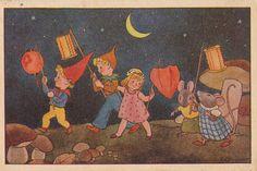 optocht muizen freddie Langeler 1947