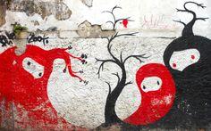 Graffiti in Sao Paulo, Brasil