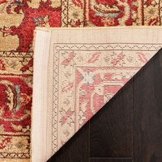 Mahal Red/Navy Area Rug
