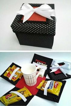 Tutoriales Bricolage, manualidades e ideas Craft Gifts, Diy Gifts, Handmade Gifts, Diy And Crafts, Crafts For Kids, Paper Crafts, Boite Explosive, Diy Gift Box, Exploding Boxes