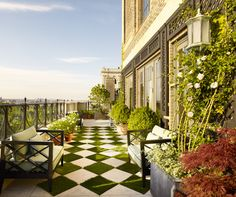 Fifth Avenue Penthouse Terrace - Projects - Sawyer | Berson