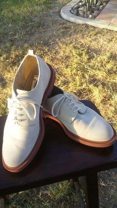 4d0083cdd4b59 Zodiac khaki suede men s oxford shoes (size 8)  vintage  vintageshoes   MensFashion