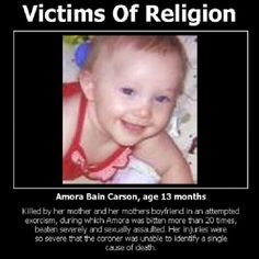 Victims of Religion- God kills not saves