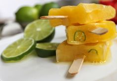 Tequila & Mango Popsicles