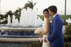 Happy couple, congratulations!  Photo by Ocean Photo Studio