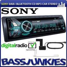 Sony #mex-n6001bd dab+ #radio bluetooth cd mp3 usb aux car stereo player & #aeria,  View more on the LINK: http://www.zeppy.io/product/gb/2/271903055345/