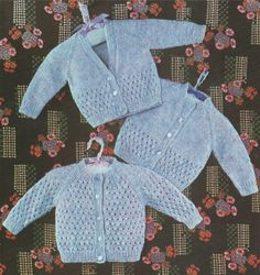 Knitting Patterns Boy Baby Cardigan PDF Knitting Pattern : Boys and Girls . Babies 19 and 20 inch chest . Baby Cardigan Knitting Pattern Free, Pattern Baby, Knitting Patterns Boys, Baby Patterns, Crochet Pattern, Cardigan Bebe, Baby Boy Cardigan, Baby Vest, Baby Blanket Crochet