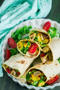 Vegan Tofu Tikka Wraps is a healthy and super addictive way to incorporate tofu in your diet. Again being vegan-friendly this dish will surely please all. High Protein Recipes, Vegan Recipes, Diet Recipes, Marinated Tofu, Vegetarian Snacks, Tortilla Wraps, Indian Food Recipes, Ethnic Recipes, Eating Habits