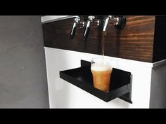 AWESOME Homemade Kegerator and Home Brewing Setup - YouTube