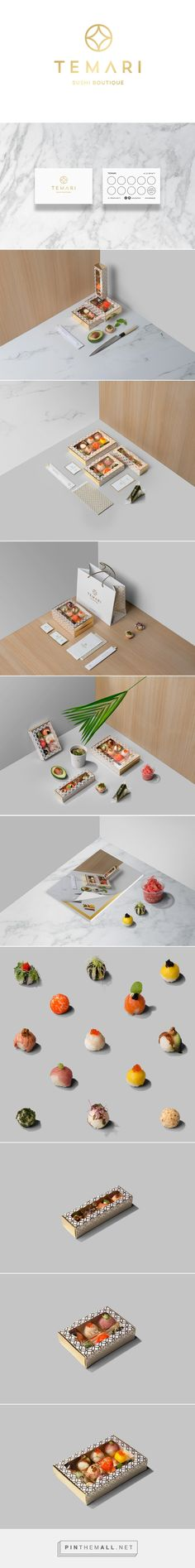 TEMΛRI Sushi Boutique Branding and Packaging by Lange & Lange | Fivestar Branding Agency – Design and Branding Agency & Curated Inspiration Gallery
