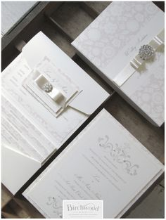 wedding invitation designed by terri from essex wonderful