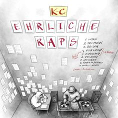 """K-C, """"Ehrliche Raps"""" (2017)"""