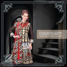 Fashion is all about your personal style and what makes you comfortable, so stay confident and rock it!#EthnicWear #Saree #DesignerLook #Elegance #EkakanyaSarees