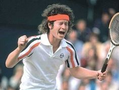 John McEnroe - Yes I got to see him yell and holla!  Was classic.