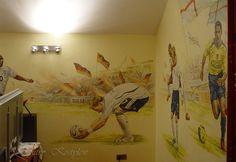 интерьер комнаты для подростка футбол - Поиск в Google
