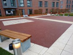 resin bound paving installed by Pps-Uk at Leeds