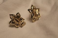 Cutie Gold Leaves by YournNonce on Etsy, $10.00