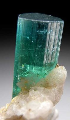 Indicolite | Afghanistan. A stone found in the heart of the land. And one of the most amazing things found in Afghanistan.