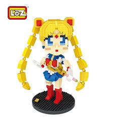 NEW PRODUCT👉LOZ Micro Block 🌙 Moon Princess ☽ ​ Pretty Soldier Sailor Moon 🦄 (If you want to sell loz toy,pls contact us.Email :sale@lozideas.com)