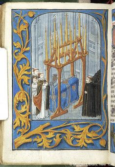 Book of Hours, MS M.234 fol. 108v - Images from Medieval and Renaissance Manuscripts - The Morgan Library & Museum