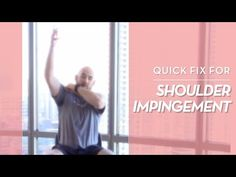 Best Exercise To Fix Shoulder Impingement (Quickly! Shoulder Rehab Exercises, Elbow Exercises, Rotator Cuff Exercises, Arthritis Exercises, Back Pain Exercises, Shoulder Workout, Stretching Exercises, Bursitis Shoulder, Passive Stretching