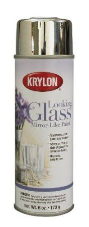 Krylon K09033000 Looking Glass Mirror-Like Aerosol Spray Paint, 6-Ounce: Amazon.co.uk: DIY & Tools