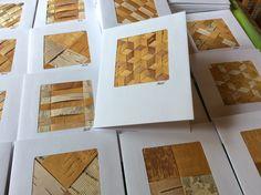 Tuohikortteja Birch bark cards Anna-Maria Väätäinen