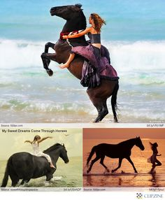 Horseback Riding on the Beaches #arbonnepuresummer