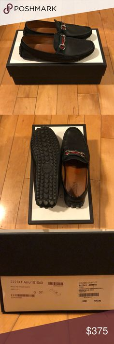 Guccie leather upper and rubber Soul road loafers These Gucci loafers are great worn daily or at any event. Made in Italy bought straight from the Gucci store these shoes have been worn more than once but come looking brand new. Comes with 2 dust bags and box. Gucci Shoes Loafers & Slip-Ons