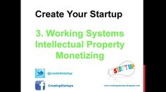 How to Make Money - Start a Business - Step 3 - Working Systems - Intellectual Property - Monetizing - Work System, Competitor Analysis, Starting A Business, Intellectual Property, Create Yourself, Online Business, How To Make Money, Marketing, Startups