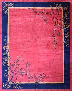 Chinese Art Deco carpet x Flower Graphic Design, Orange Carpet, Red Carpet, Tibetan Rugs, Art Deco Rugs, Types Of Carpet, Chinese Art, Chinese Rugs, Carpet Design