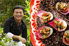 Discover the best dining spots in Bangkok with the recommendations of Issaya Siamese Club's Chef Ian Kittichai Best Curry, Best Dining, Bangkok, Cobb Salad, Interview, City, Blog, Blogging