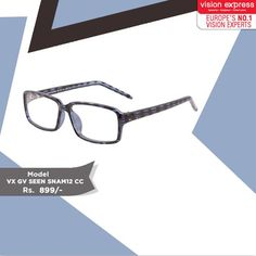 35ce55ed6d Make an impression with these printed frames with your summer casuals. Model    VX GV SEEN CC www.