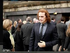 Sam at the National Museum of Scotland