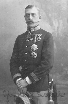 ■ Generaloberst Erzherzog Josef Ferdinand k.u.k. Hoheit (1872-1942) --- Erzherzog Joseph Ferdinand pictured as the commander of Infanterie-Regiment Nr. 93. Commander of the 4th Army during WWI.
