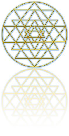 REFLECTING SRI YANTRA