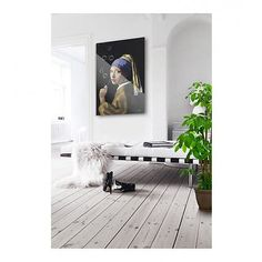 Arty Shock Schilderij Vermeer - Meisje met de parel - The bubble edition M multicolor plexiglas - wonenmetlef. Inspiration Wall, Chinoiserie, Green And Grey, Holland, Bubbles, Interior Decorating, Wallpaper, Furniture, Design