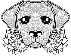 dog sugar skull coloring pages | 1000+ images about sugar critter coloring pages on ...