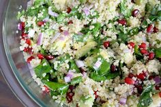 Superfood Recipe: Quinoa Salad with Pomegranate Seeds
